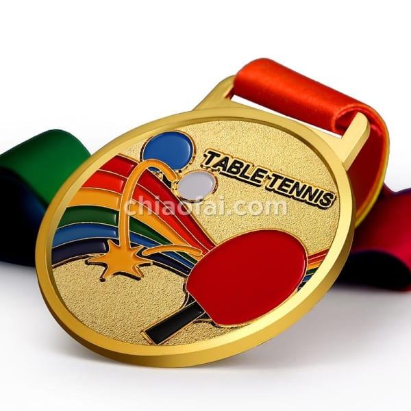 乒乓球獎牌3