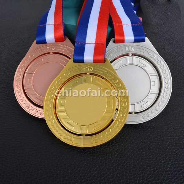 旋轉金銀銅牌1