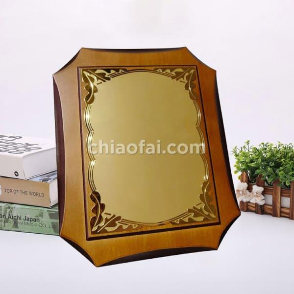 鋁板八角高檔獎牌3 (2)