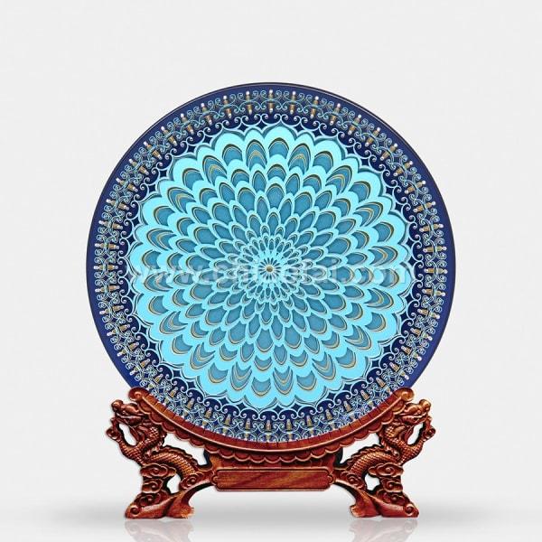 042 吉桑花盤(紅藍) (2)