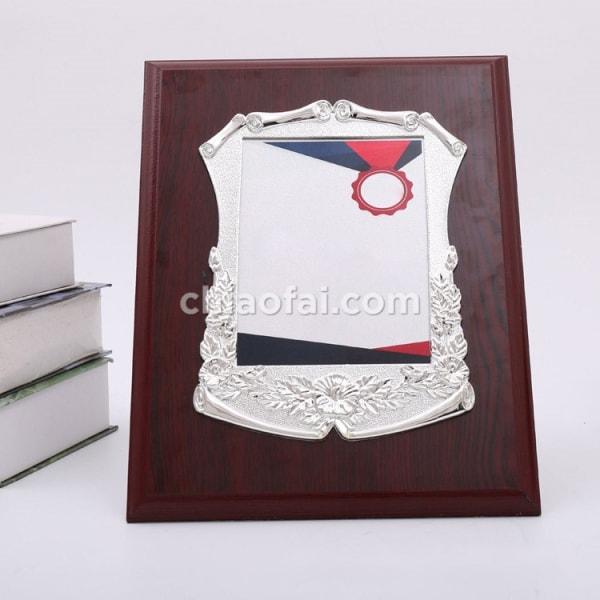 銀色花框獎牌 (2)