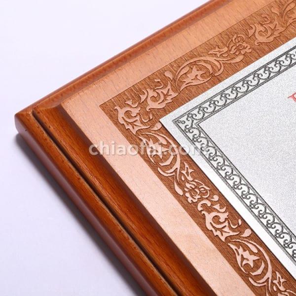 欅木色珠光鋁片獎牌 (3)