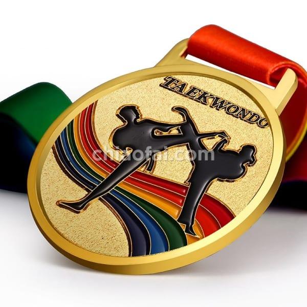 跆拳道獎牌2