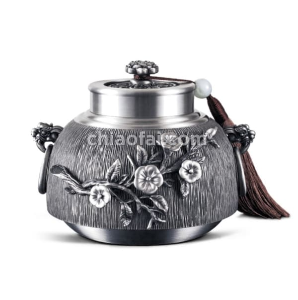 福田花語 – 茶葉罐