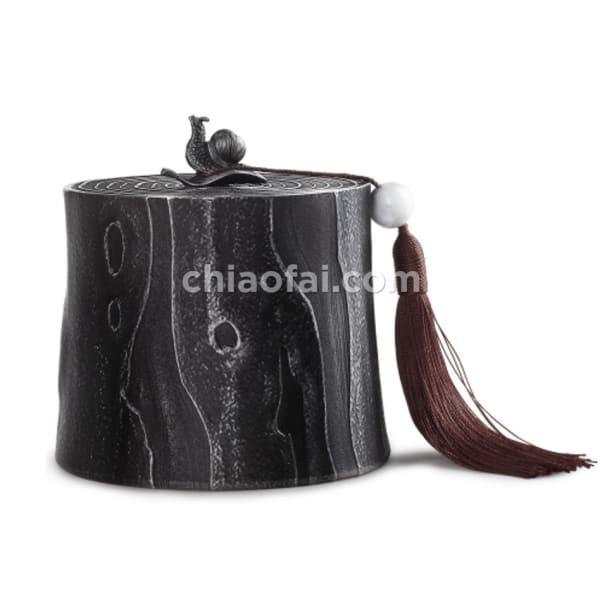年 輪 茶葉罐