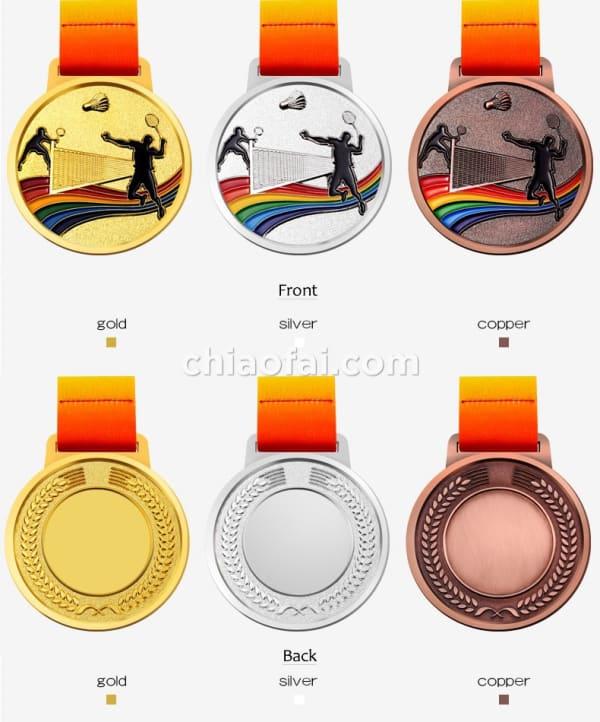 羽毛球獎牌3