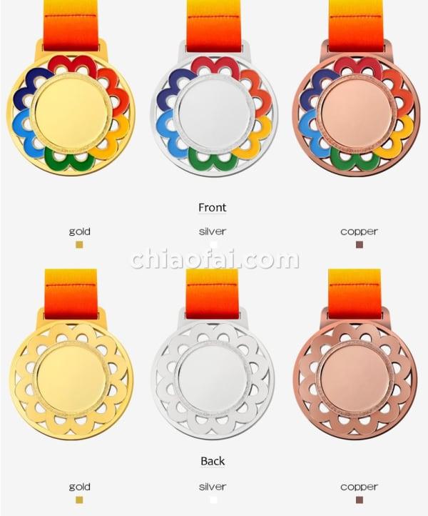 彩色花邊獎牌 (1)