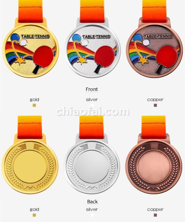 乒乓球獎牌2