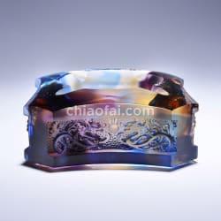 龍紋煙灰缸4