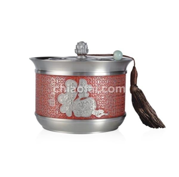 和納百福 茶葉罐