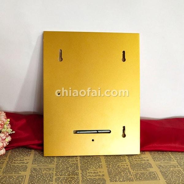 金色木板獎牌 (4)