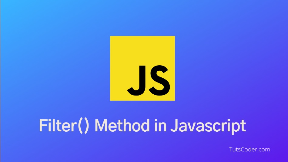 Introduction to Filter method in javascript