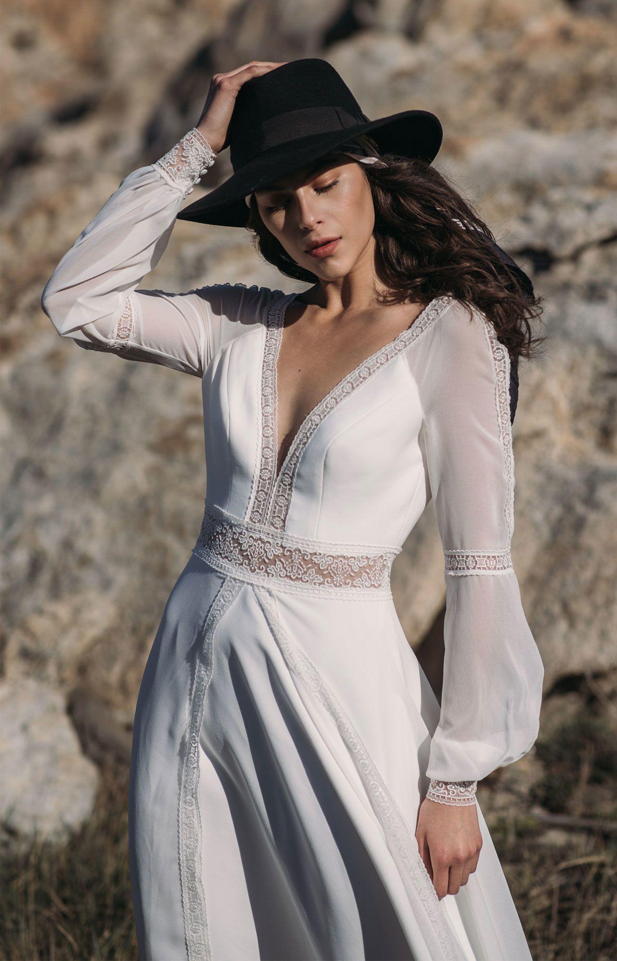 vestido novia en campera en valencia