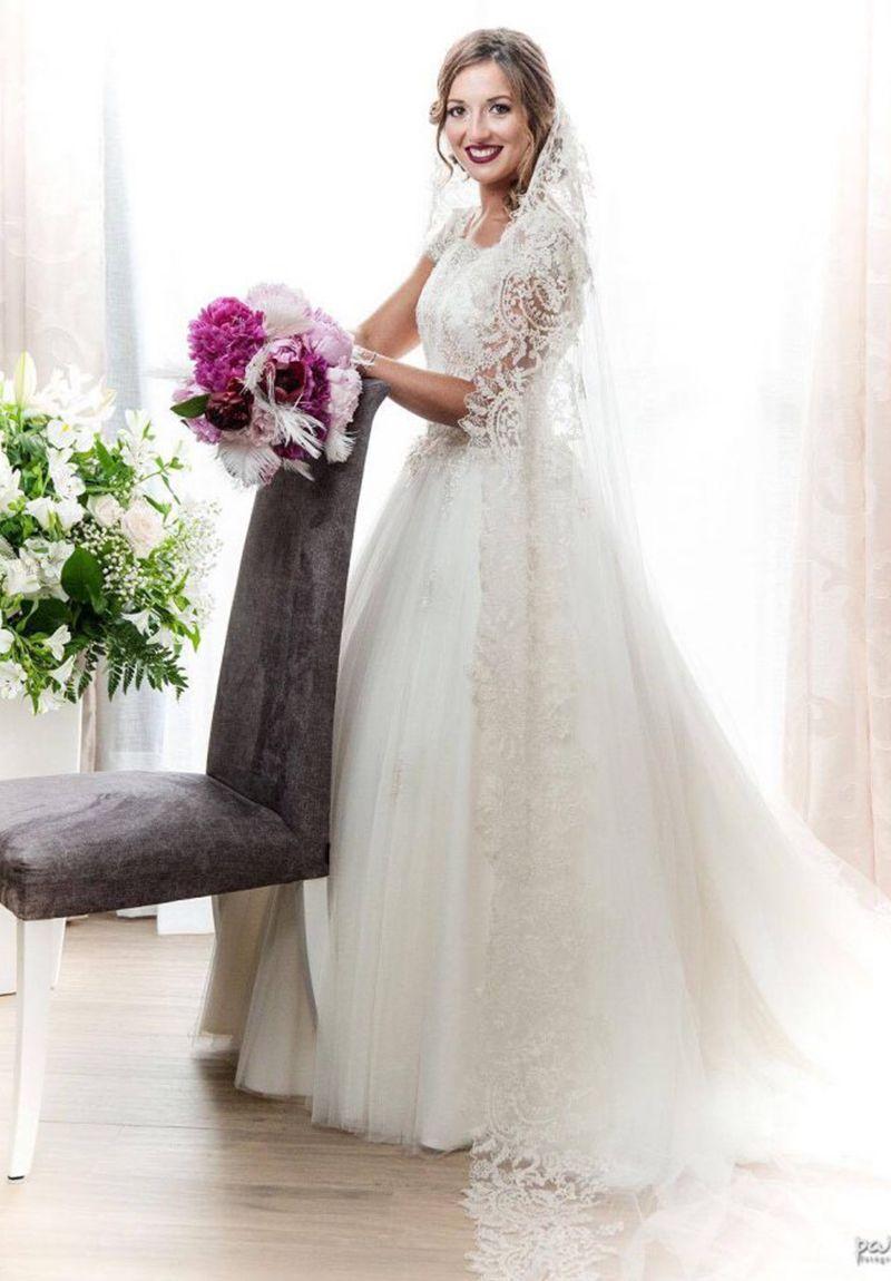 novia clasica valencia