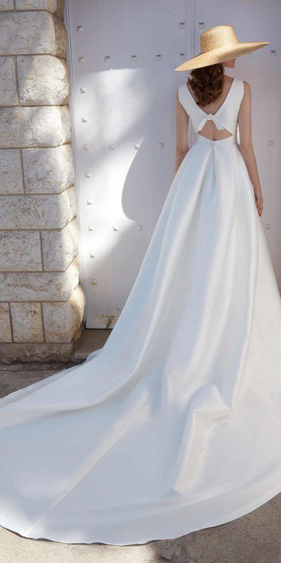 vestido novia clasico en valencia