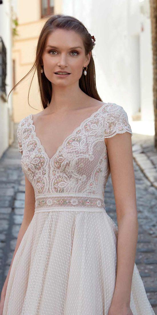 vestido novia princesa en valencia