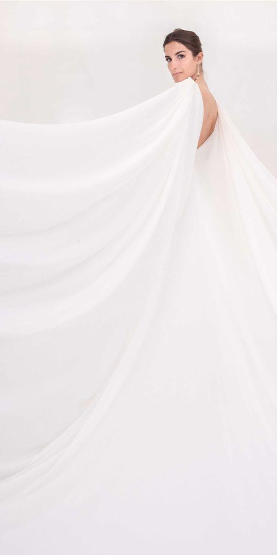 vestido novia con capa en valencia