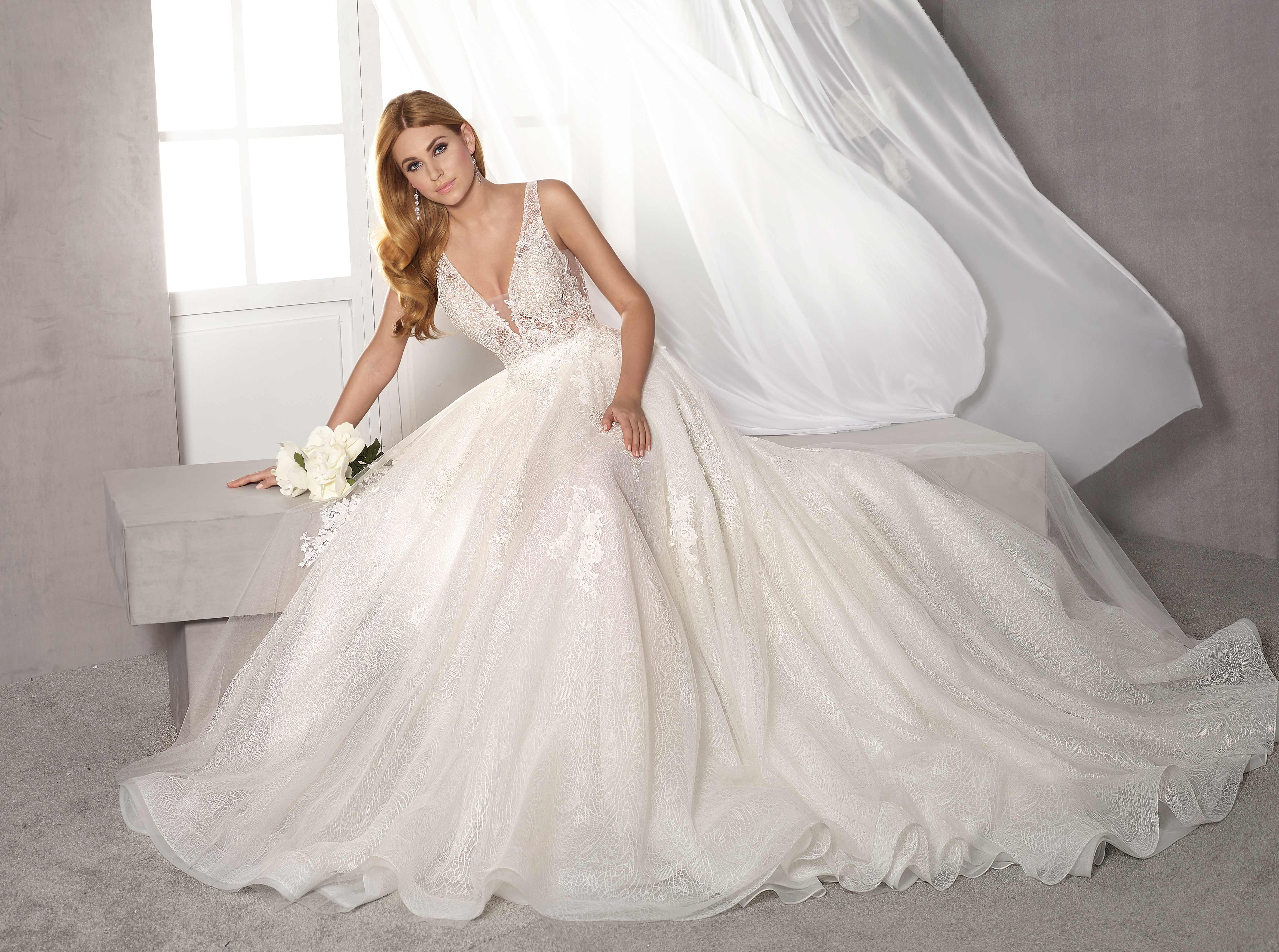 vestido novia princesa valencia