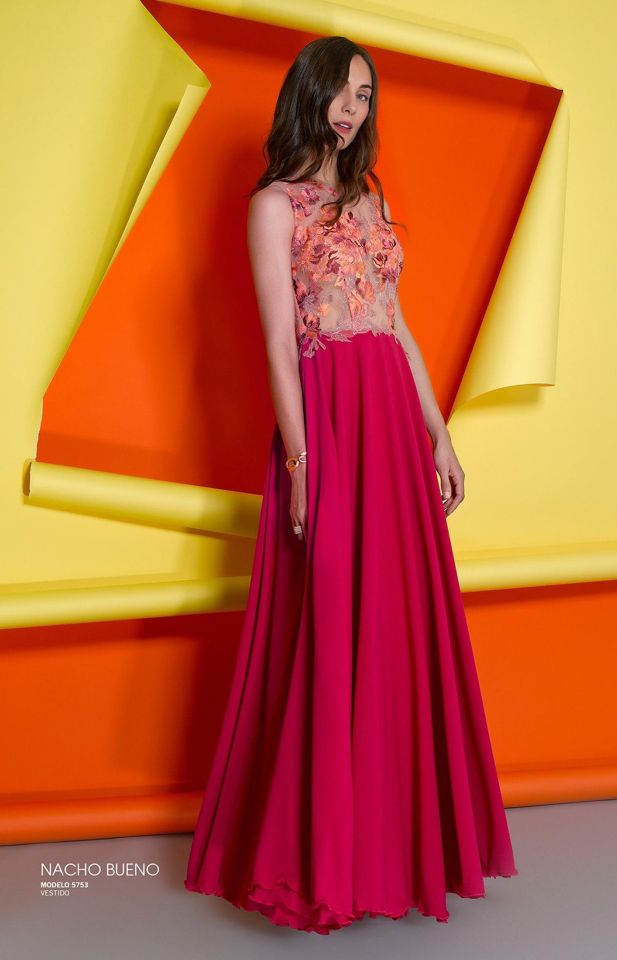 vestido de plumas rosa en nuestra tienda en valencia