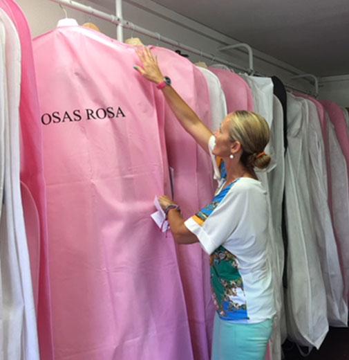 tienda de vestidos de novia valencia - rosas rosa