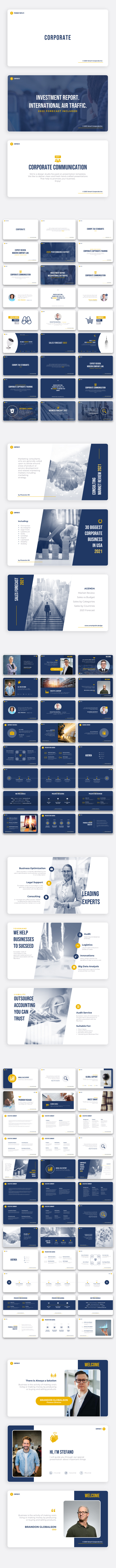 Corporate - Premium PowerPoint Template for Business - 2