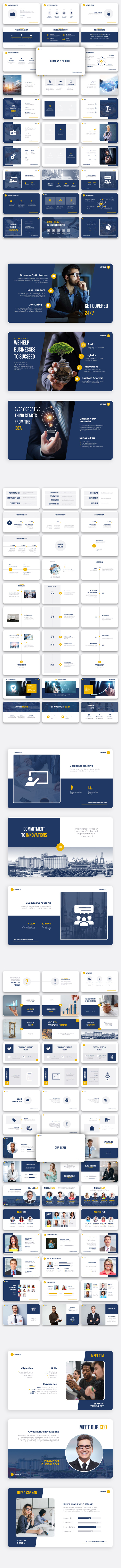 Corporate - Premium PowerPoint Template for Business - 6