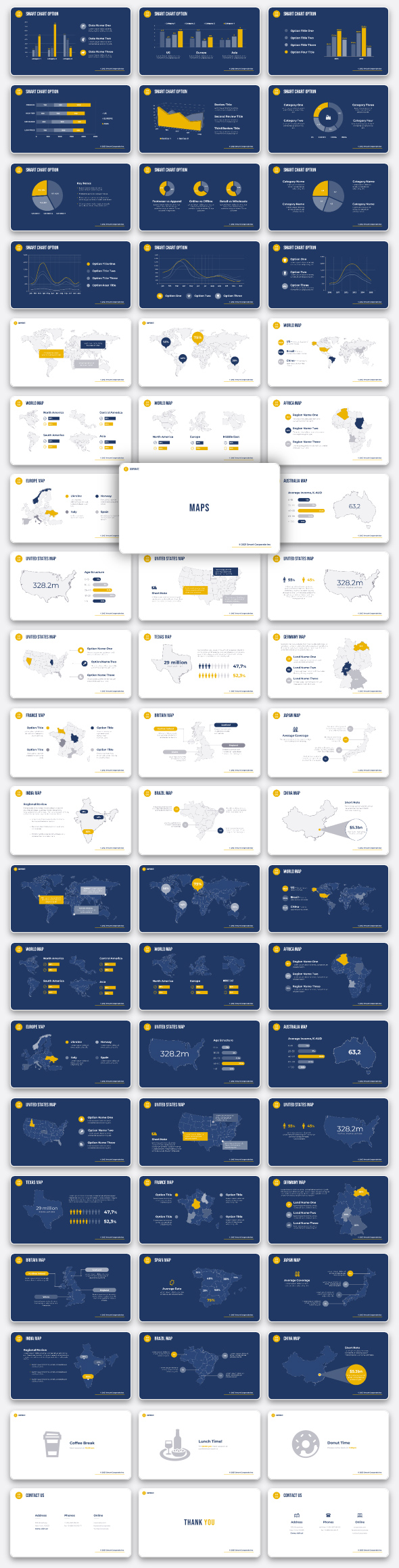 Corporate - Premium PowerPoint Template for Business - 12