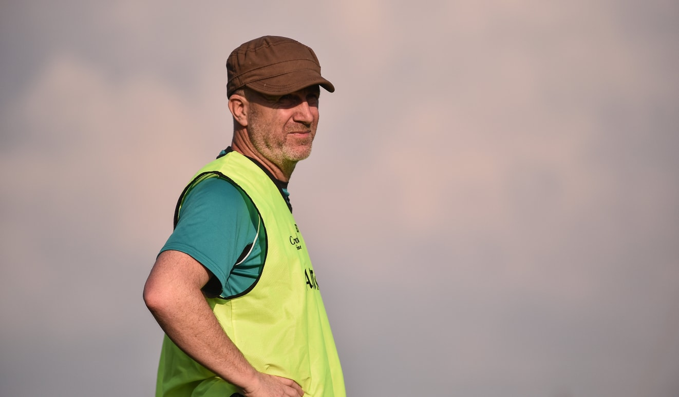 Dr Paul Rouse managed Offaly footballers during the 2018 All Ireland Senior Championship.
