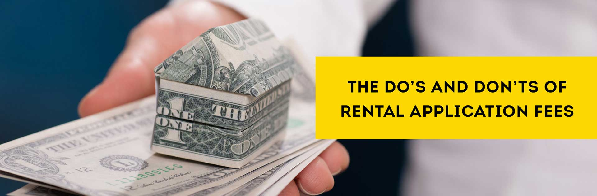 rental application fees best practices