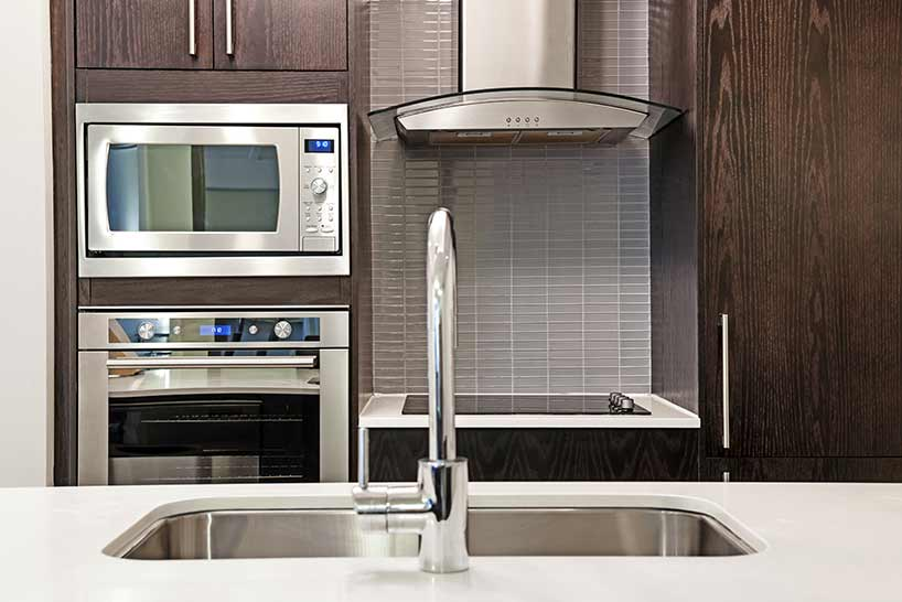 updating your unit with new appliances can add more value