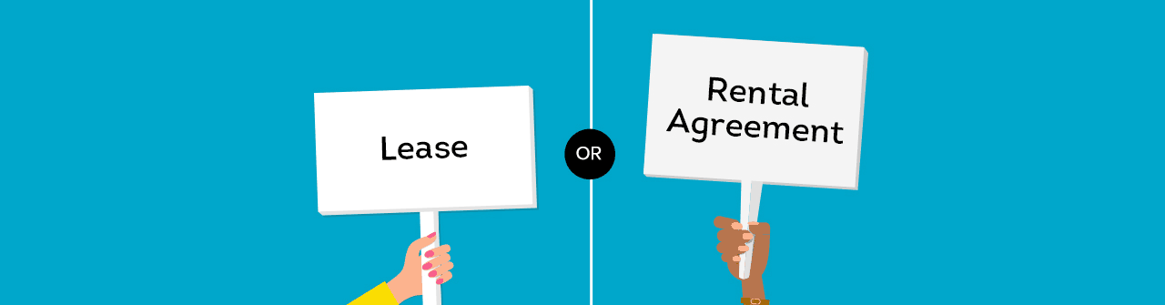 Lease versus rental agreement