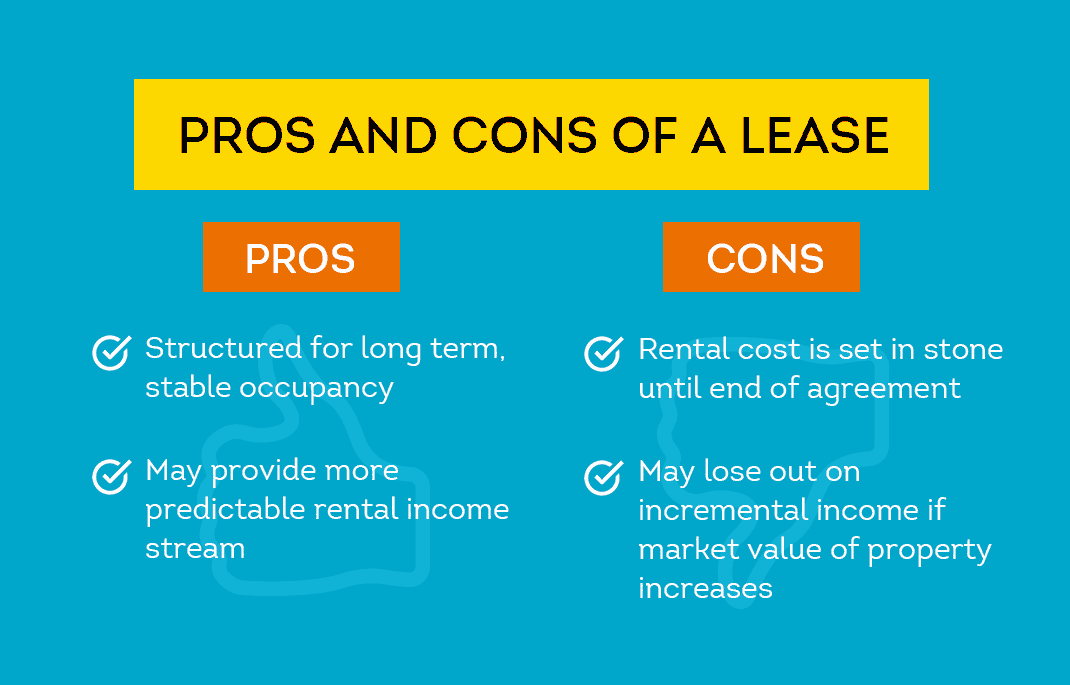 pros and cons of a lease agreement