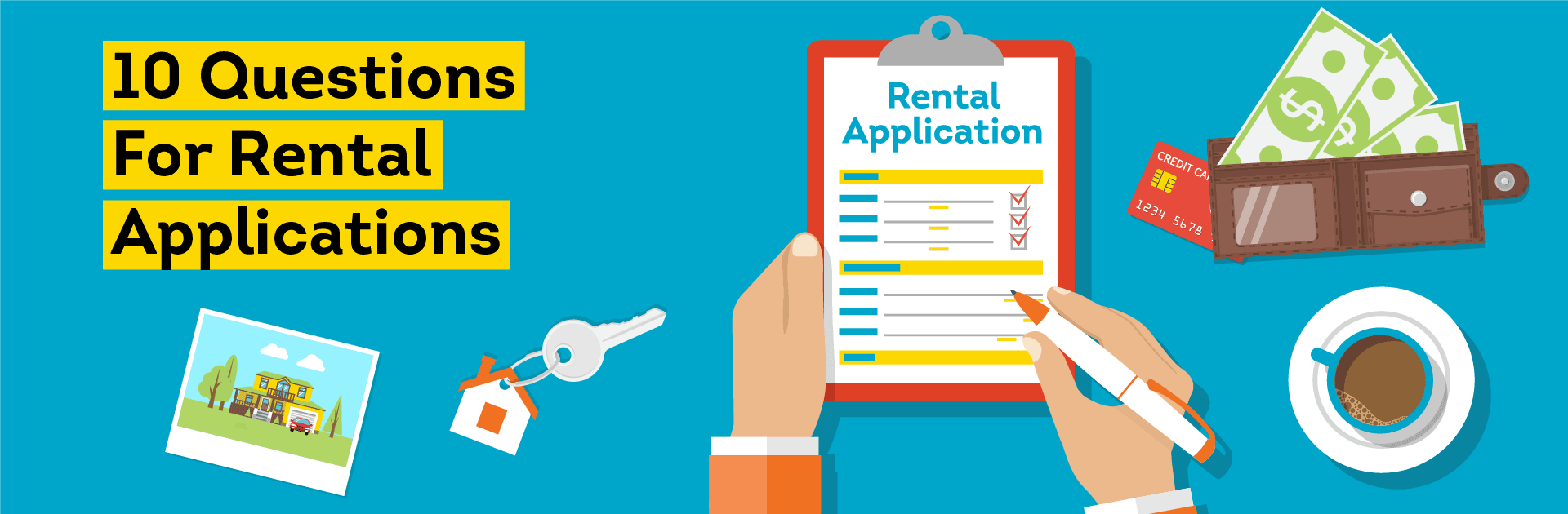 Top 10 rental application questions