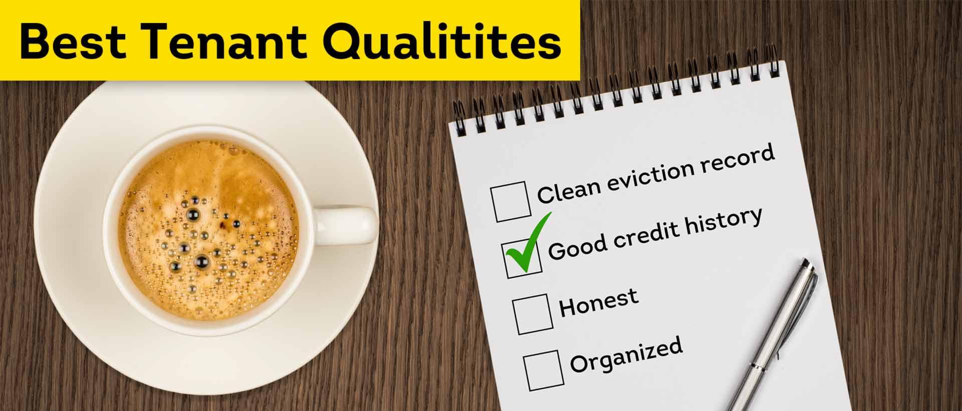 Best Tenant Qualities