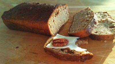 green buckwheat bread