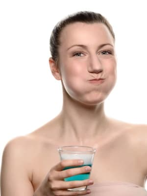 gargle salty water for cough relief