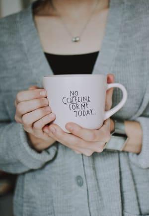 no caffeine for ulcers