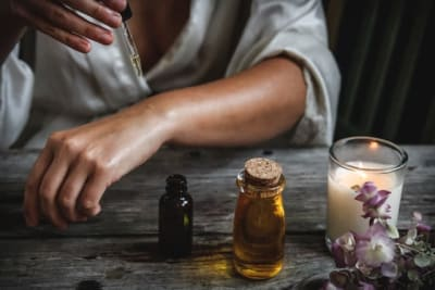 essential oils treatment for skin