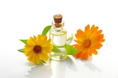 a treatment using essential oils