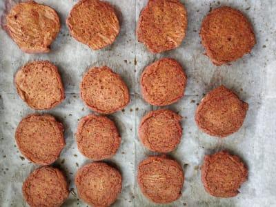 baked vegan patties