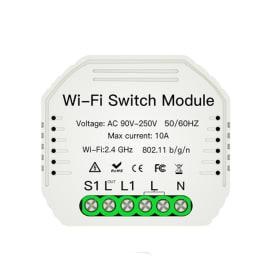 Przekaźnik dopuszkowy gniazdko WiFi Tuya Smart