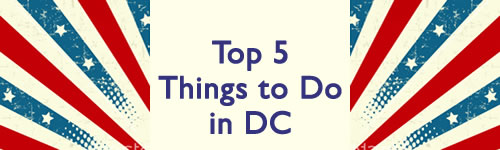 Top 5 Things to Do in DC