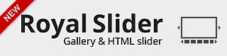 RoyalSlider - Touch Content Slider