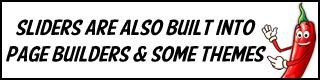 Built-In Sliders