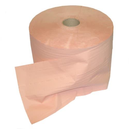 Bobine d essuyage orangée 2 plis 1500 formats 21 x 35 cm certifié Ecolabel photo du produit