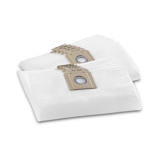 Sac filtrant non tissé papier toison indéchirable Karcher photo du produit