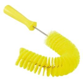 Écouvillon flexible fibres médium alimentaire Ø5,5cm 36cm jaune photo du produit
