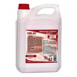 Nettoyant détartrant désinfectant désodorisant sanitaires bidon de 5L photo du produit