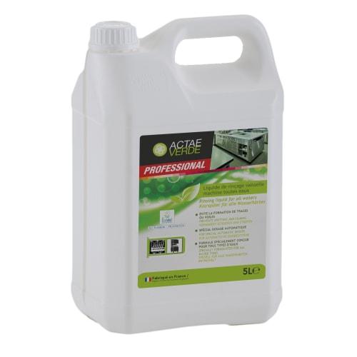 Actae Verde liquide rinçage vaisselle machine toutes eaux certifié Ecolabel bidon de 5L photo du produit