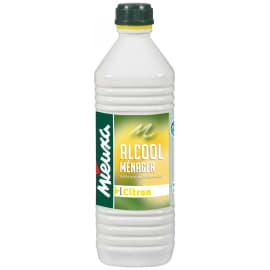 Alcool ménager citron flacon de 1L photo du produit